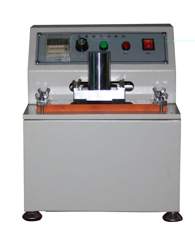 Packaging Industry Paper Testing Equipments , Ink Rub Tester For Printing